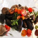 Grilled Mussels and Clams