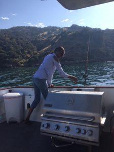 Val Fishing at Pelican