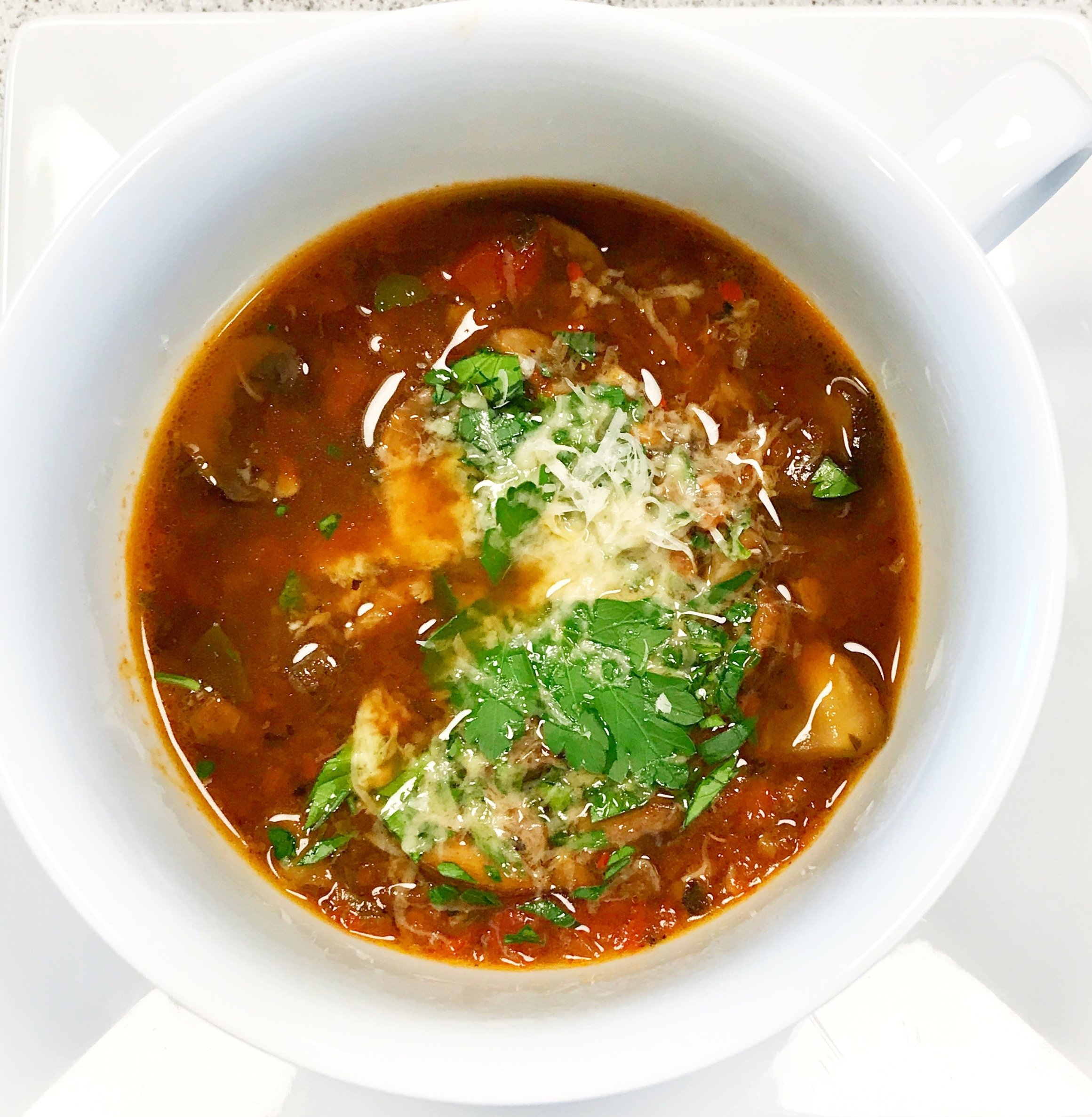 Acquacotta (Cooked Water Soup)